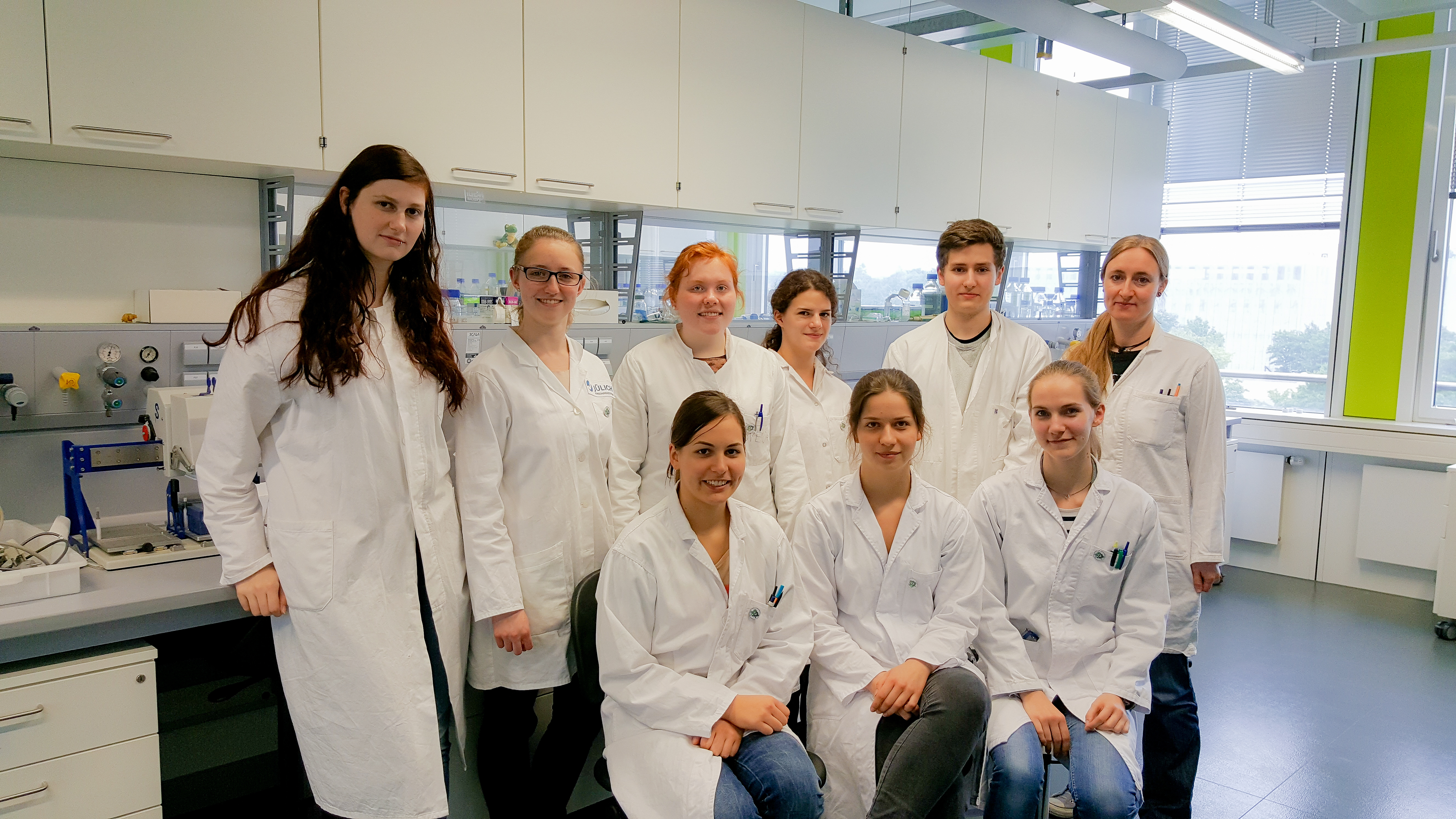 Group picture of the 2016 iGEM members of the RWTH Aachen University
