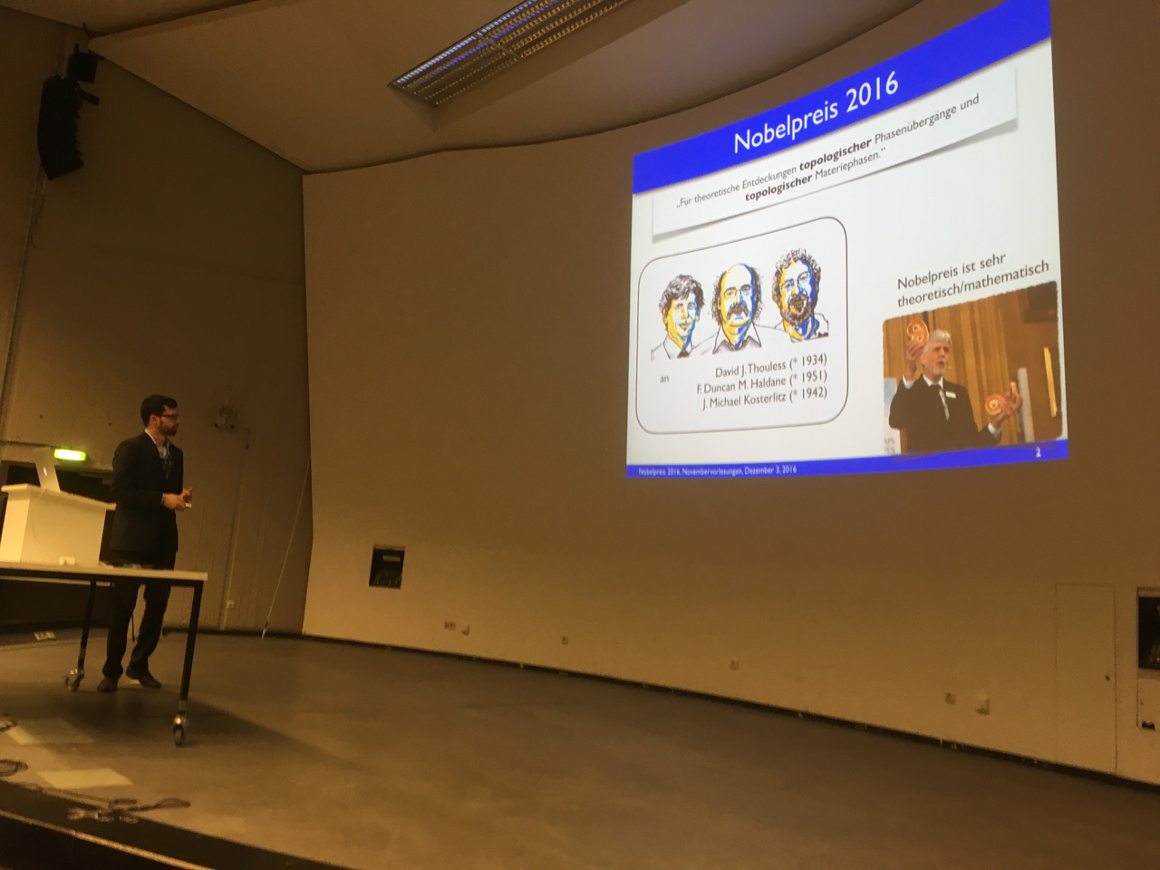 RWTH Explains the Nobel Prize Decisions
