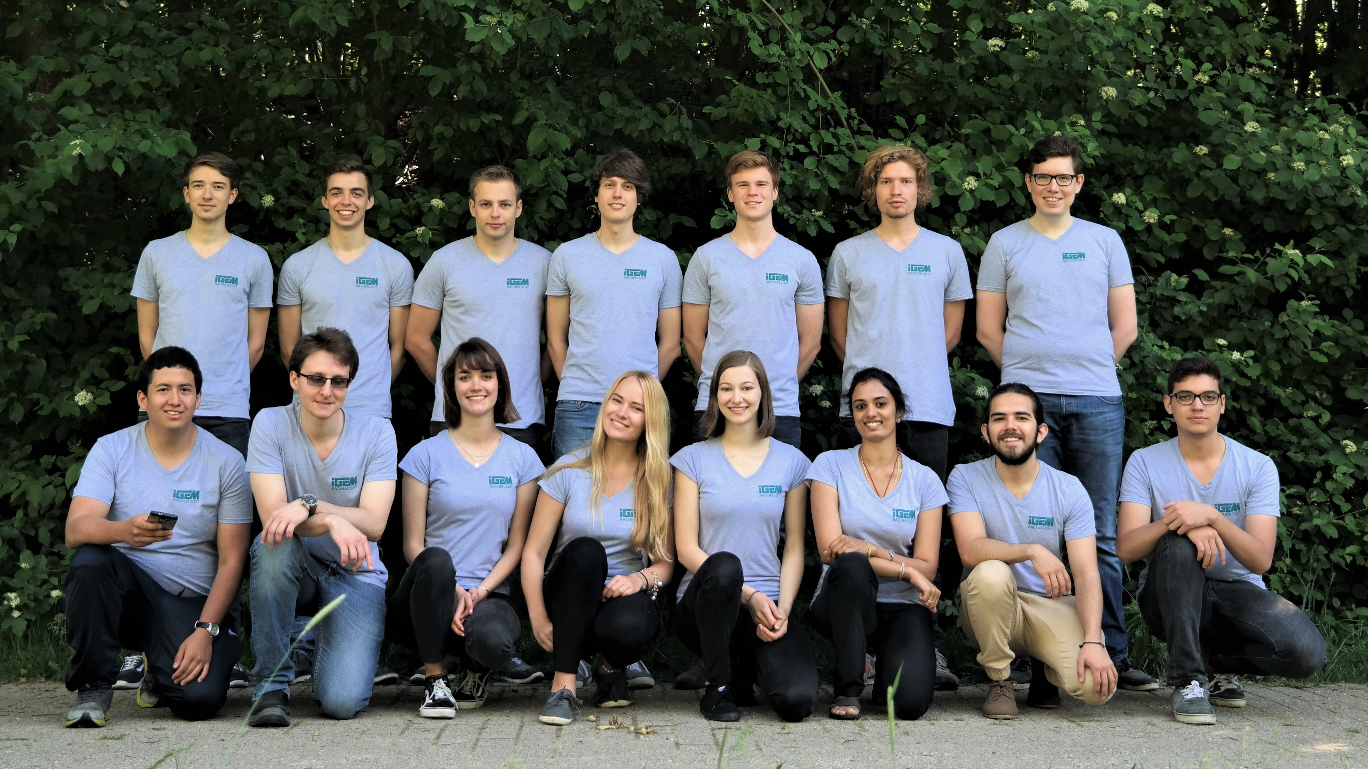 The Aachen iGEM-Team 2017