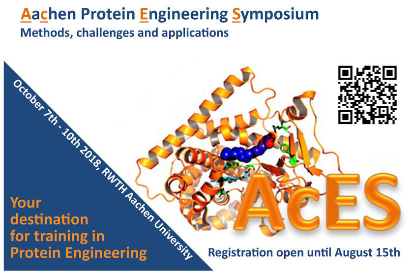 Invitation to the AcES Symposium from 21th to 23rd September 2016 in Aachen