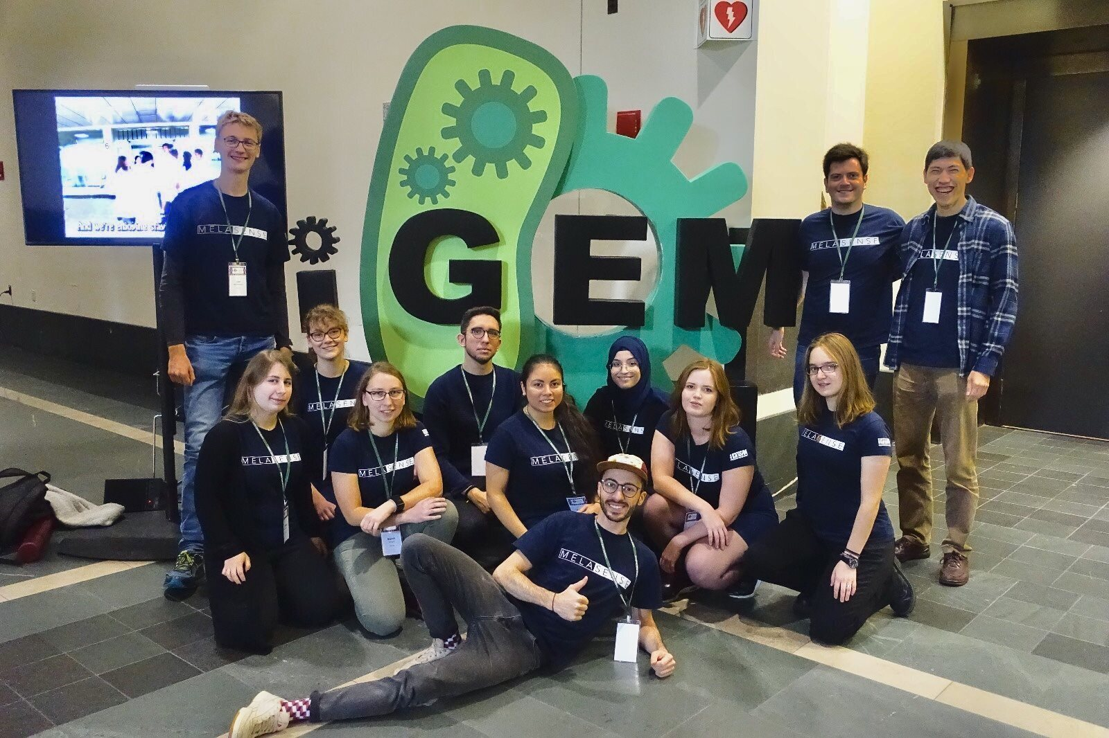 Photo of the 2018 iGEM-Team Aachen