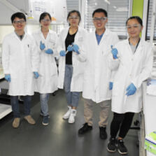 Chinese students and scientists at Chair of Biotechnology