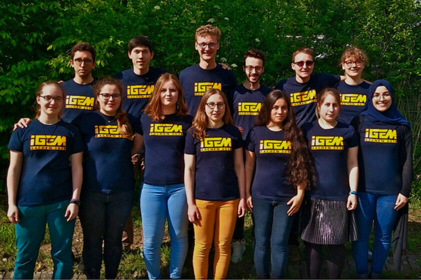 Photo of the 2018 Aachen iGEM-Team